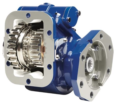 muncie pattern and engineering tg series power take off eliminates need for shift cables