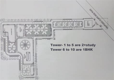layout plan of kmp expressway osb expressway towers in sector 109 gurgaon price