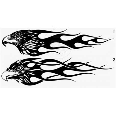 Aufkleber Flammen by Flammenaufkleber Adler