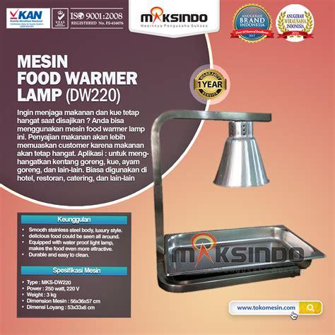 Jual Sho Metal Tangerang jual mesin food warmer l dw220 di tangerang toko