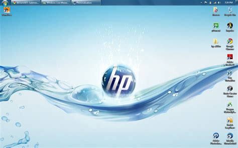 download themes for windows 7 hp hp windows 7 theme by dogdemonofdeath on deviantart