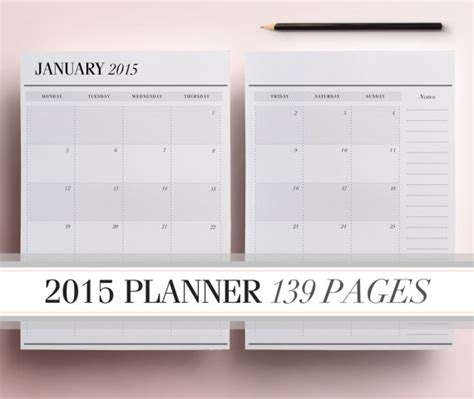 free printable daily planner sheets 2015 7 best images of 2015 daily planner printable pages free
