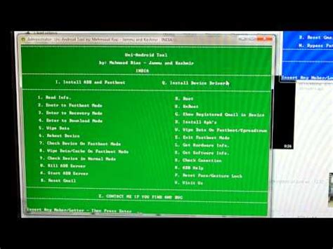 android tablet reset software software to hard reset allwinner rockchip and all ot