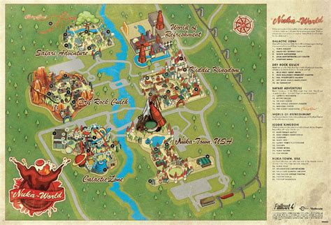 fallout world map fallout 4 nuka world dlc guide cores cappy