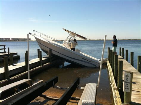 boat marina fails quot hey man at least we re fishing quot boating