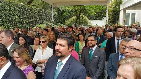 Adair Mba by Embajadora Irlandesa En M 233 Xico Sonja Hyland Festeja