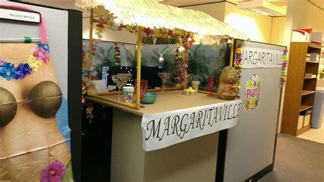 margaritaville themed cubicle decoration cube decor