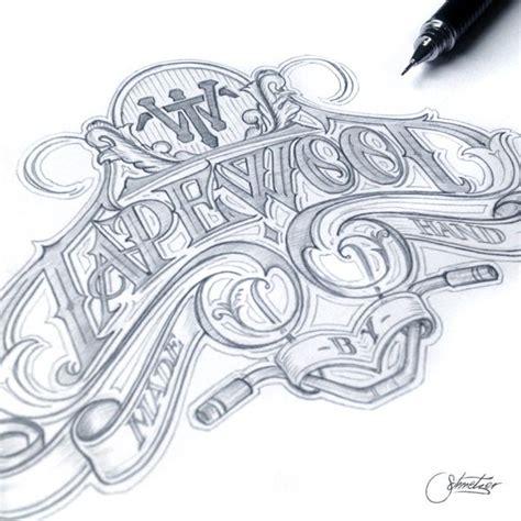 typography tutorial hand drawn 26 best hand drawn typography with martin schmetzer images