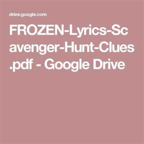 printable frozen scavenger hunt 17 best ideas about frozen scavenger hunt on pinterest