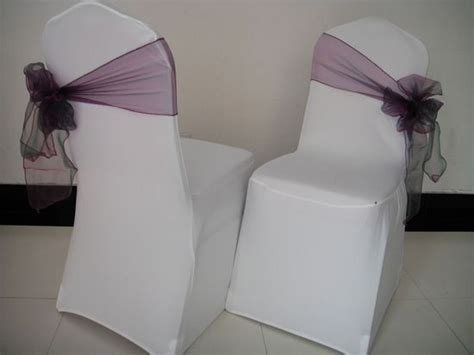 unique chair sash ties a different way to tie chair sashes