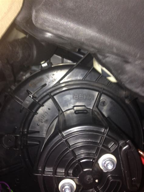 ac fan motor not working service manual how to remove heater blower from a 2008