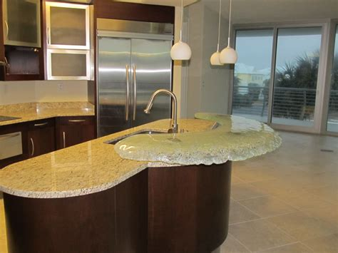 glass top kitchen island kitchen island with glass top bar chuck barnes