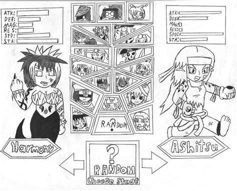choose your character by smashtoons on deviantart choose your character by thejestermime on deviantart