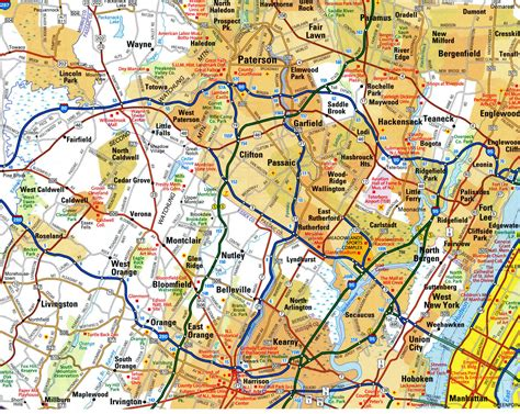 free detailed road map usa highways of western new york free maps of us