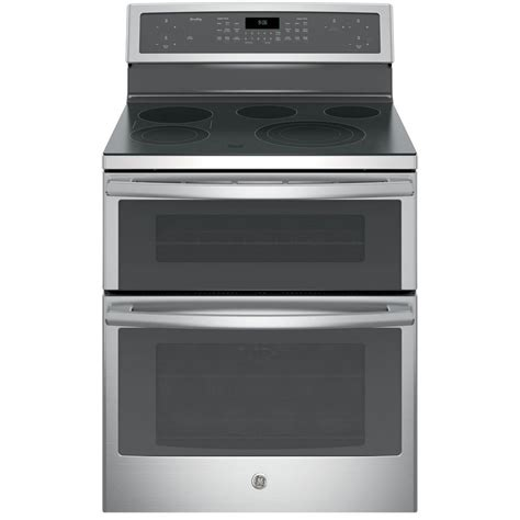 ge profile 30 in 6 6 cu ft oven electric range