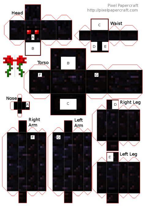 Minecraft Papercraft Mod - papercraft obsidian golem golem war mod