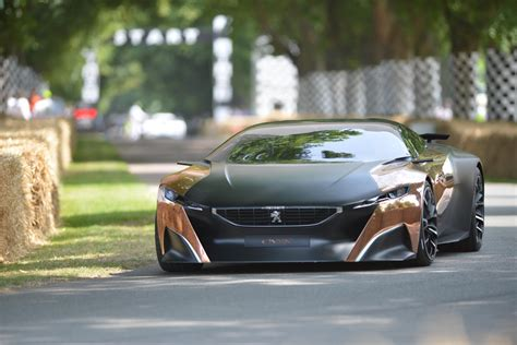 peugeot france automobile peugeot onyx concept at goodwood 2013 video live photos