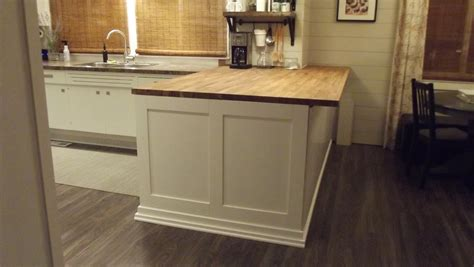 kitchen block island elephant buffet diy butcher block kitchen island before and after