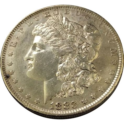 1883 o silver dollar au 58 from nedjb on ruby