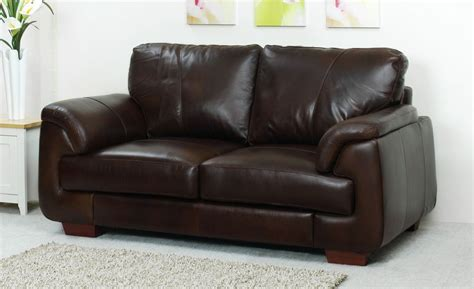 aniline leather 2 seater sofa oak furniture solutions