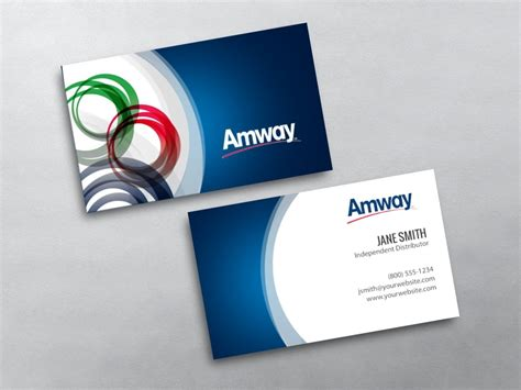 Amway Business Card Template amway business cards