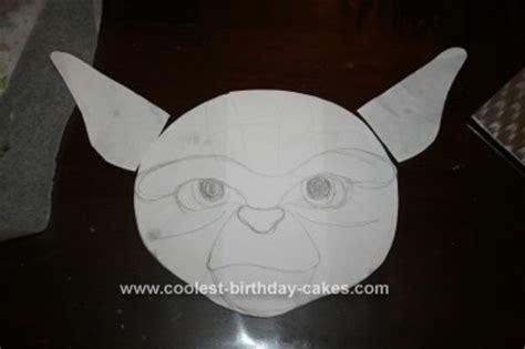 Yoda Cake Template Coolest Master Yoda Birthday Cake 20
