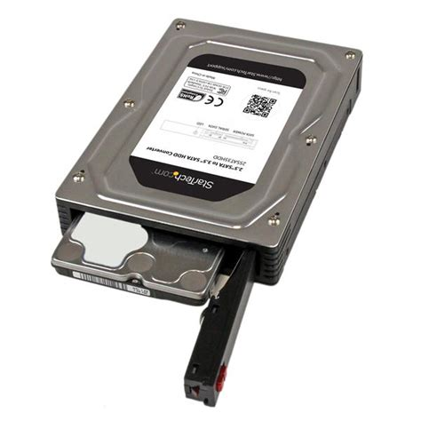 Adapter Harddisk 2 5 to 3 5 drive adapter enclosure drive adapters startech europe