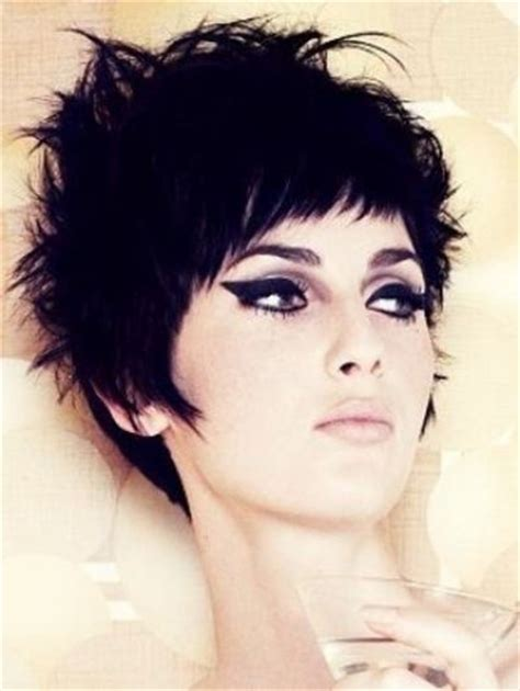 edgy short messy hairstyles styles for short hair short hair styles rocker short