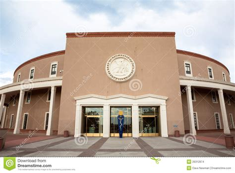 the new mexico state capitol building santa fe new new mexico state house capitol building stock images