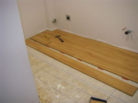 Putting Laminate Flooring In Bathroom The Peculiar Features Of Bathroom Laminate Floor Floor