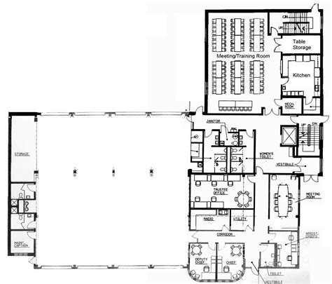 firehouse floor plans small fire station floor plans crowdbuild for