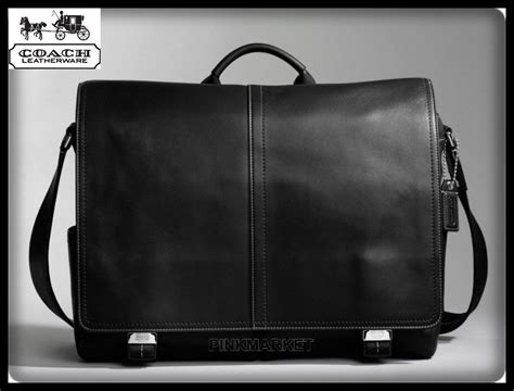 Coach Authentic Soft Leather Messenger For New With The Tag nwt s coach black transatlantic leather messenger bag 70104 100 authentic ebay