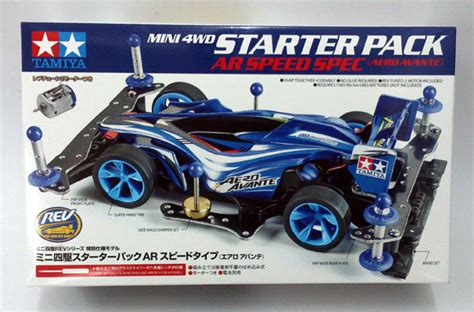 Harga Tamiya Speed by Tamiya Mini 4wd Starter Pack Ar Speed Spec Aero Avante
