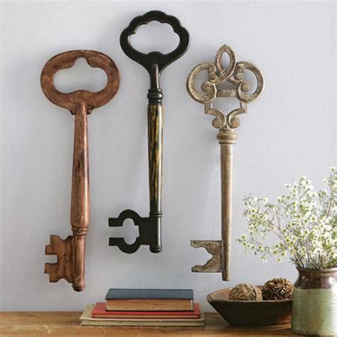 key home decor key home decor ornament skeleton key home decor by