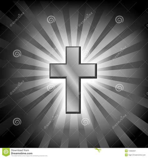 christian golden cross with light stock image image