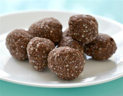 protein chocolate choc protein balls recipe