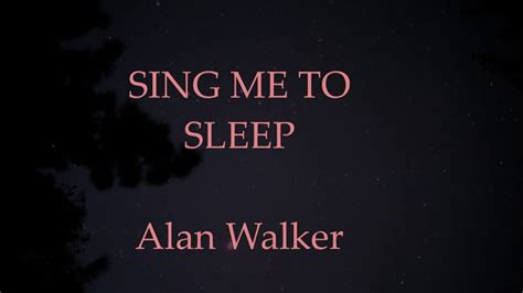 alan walker sing me to sleep reggae 2016 youtube alan walker sing me to sleep lyrics feat iselin