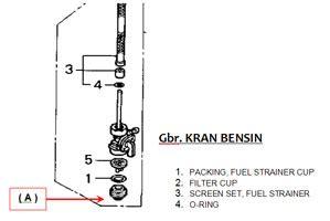 Kran Bensin Gl connective merawat tangki motor honda tiger motor sport
