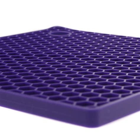 Honeycomb Mat by Purple Honeycomb Silicone Mat Unique Home Living