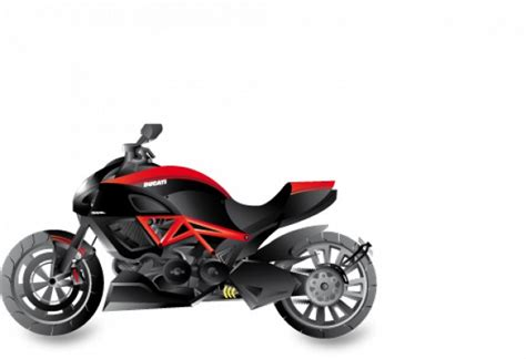 imagenes vectores motos vector de motocicletas ducati diavel descargar vectores