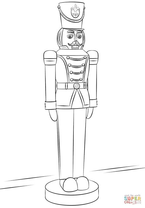 easy nutcracker coloring pages nutcracker soldier drawing www imgkid com the image