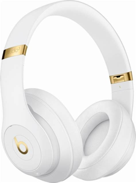 Headphone Beats Dr Dre Studio White Kw beats by dr dre beats studio3 wireless headphones white headphones 011 best buy