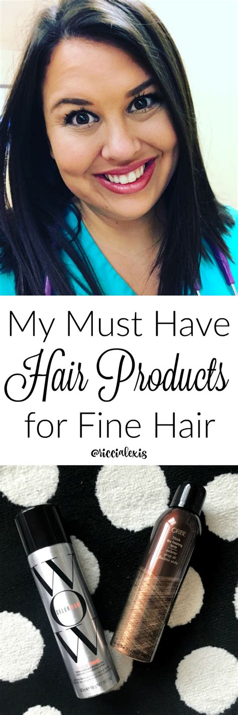 must have hair my must have hair products for fine hair