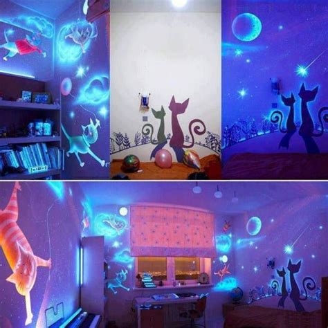 glow in the dark bedroom ideas 30 cheap and easy home decor hacks are borderline genius