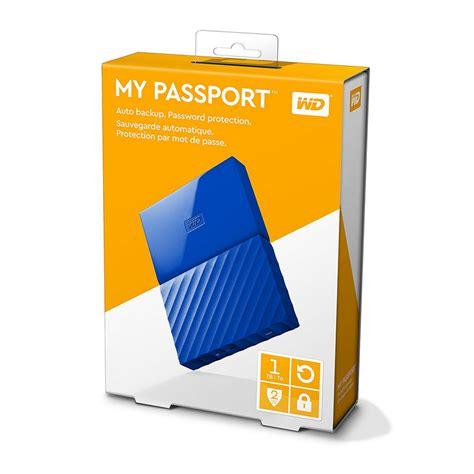 Wd My Passport 1tb wd my passport 1tb 2 5 quot usb 3 0 azul