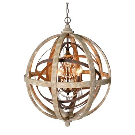 Wooden Chandeliers Lighting Wooden Orb Chandelier Metal Orb Detail And By Cowshed Interiors Notonthehighstreet