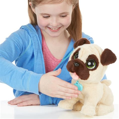 furreal jumping pug furreal friends jj my jumping pug pet gift to gadget