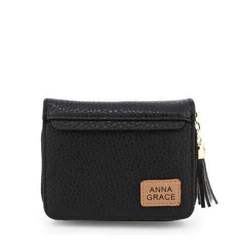 Wallet With Tassel agp1083 black grace purse wallet with tassel