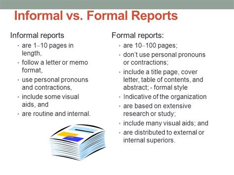 Letter Report Vs Title Insurance Proposals And Formal Reports Ppt