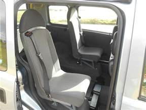 Vauxhall Combo Seats 2009 Vauxhall Combo 4 Seat Diesel Wheelchair Accessible